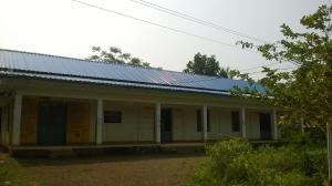 community hall roof